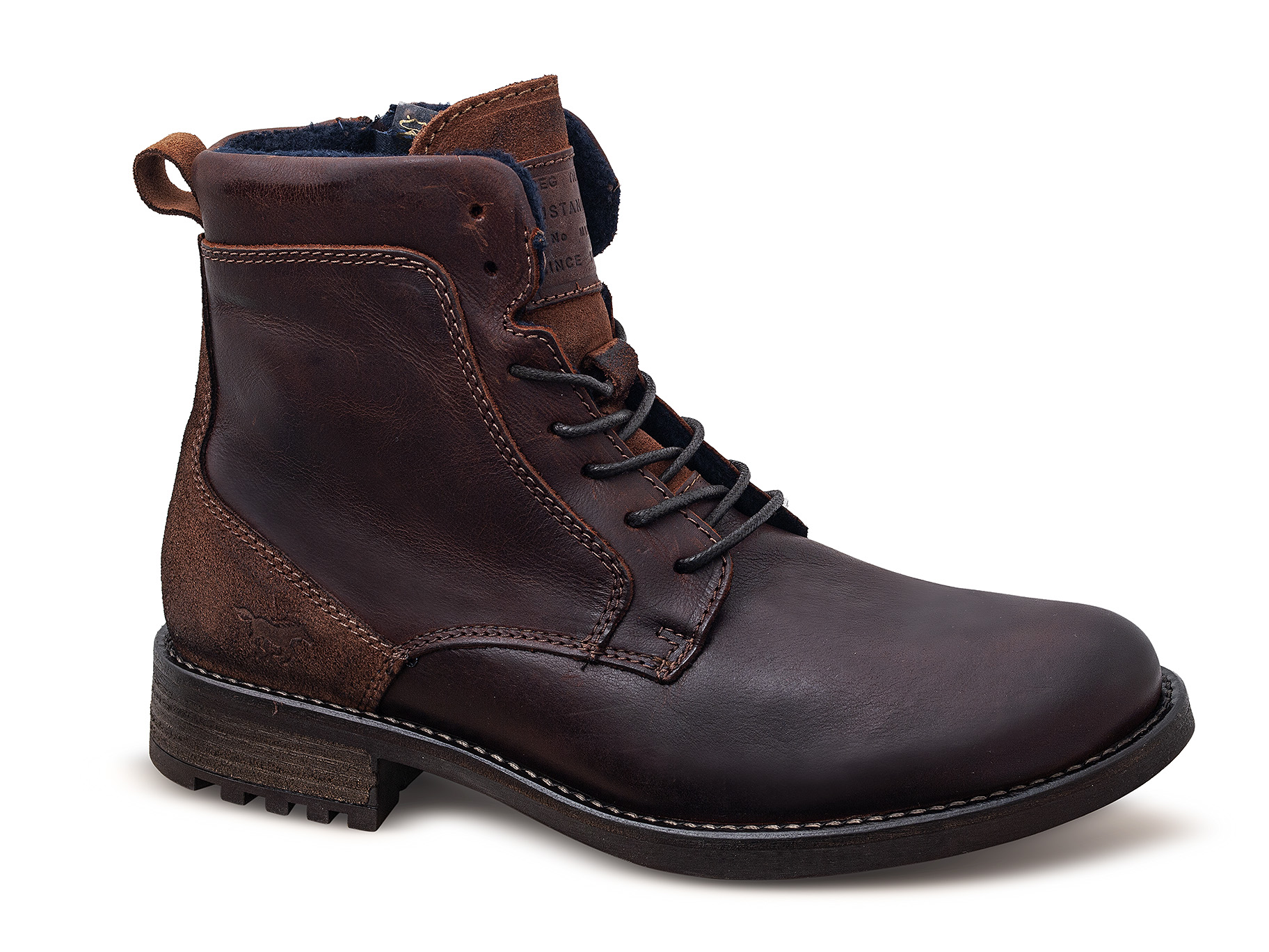 különböző tervezés több szín hihetetlen árak Csizma bőr férfi Mustang 43A-071 (4920-501-301) mustang shoes